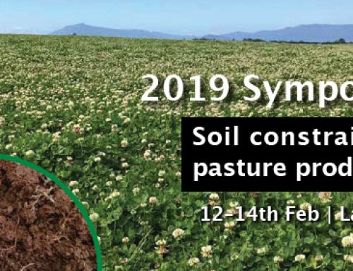 2019 SYMPOSIUM – SOIL CONSTRAINTS ON PASTURE PRODUCTIVITY