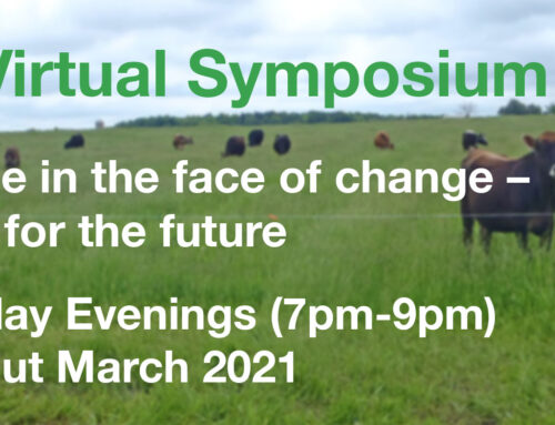 2021 SYMPOSIUM | Resilience in the face of change – pastures for the future